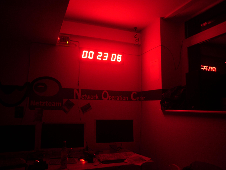 A NTP GPS LED Clock